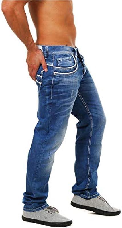 Cipo & Baxx dżinsy Regular fit (niebieskie), kolor: niebieski , rozmiar: 36W / 32L: Odzież