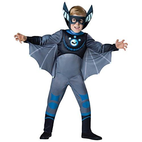 Quality Wild Kratts Child Costume Blue Bat - Small