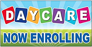 Amazon.com: Daycare Now - Cartel de vinilo enrollable (2 x 4 ...