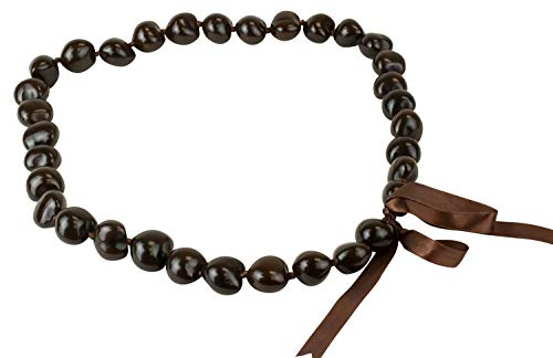 Hawaiian Kukui Nut Brown Shell 32