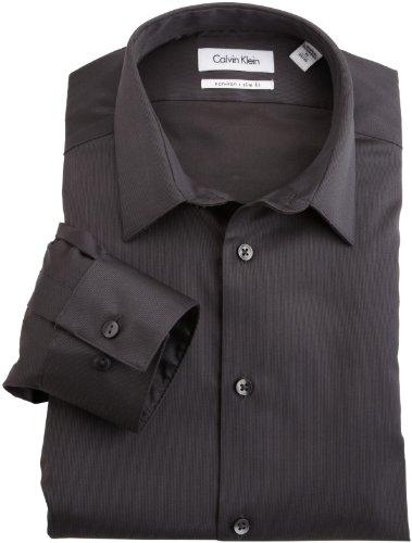 Calvin Klein Men's Non-Iron Slim-Fit Dress Shirt