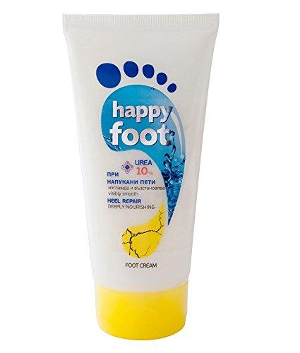 Happy pie agrietada talón reparación crema 10% Urea profundamente nutre Visiblemente suave 150ml Agiva