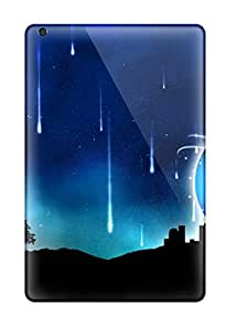 Nannette J. Arroyo's Shop Tpu Phone Case With Fashionable Look For Ipad Mini 3 - Blue City Abstract 7689161K89983268