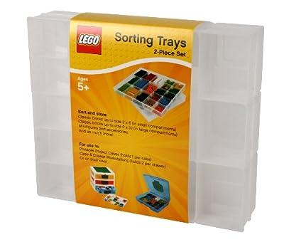 IRIS USA LEGO 2-Piece Sorting Divider Set