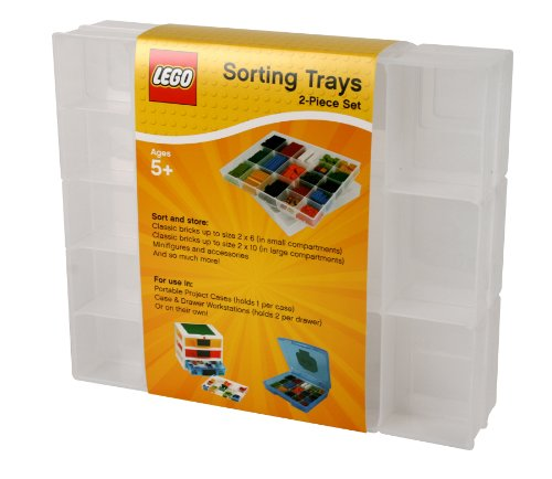 IRIS LEGO 2 Piece Sorting Divider