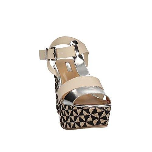 Femmes Gaudi Blanc 65370 Sandales V73 compensées IqvIr