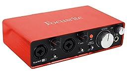 Focusrite SCARLETT STUDIO 2i2 MK2 192kHz Interface+Mic+(2) Headphones+Speaker !