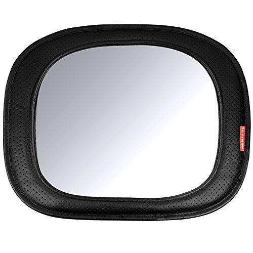 Skip Hop Style Driven Backseat Baby Car Mirror, Black