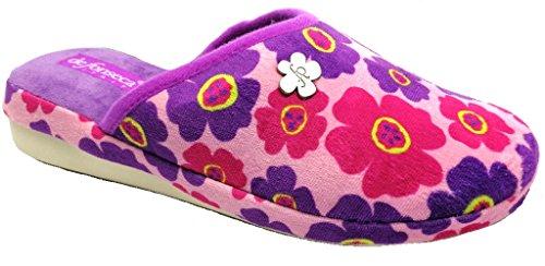 Mod Pantofole Fonseca W209 Donna Invernali Ciabatte De Rosa Da Verona YxPqvRqw4