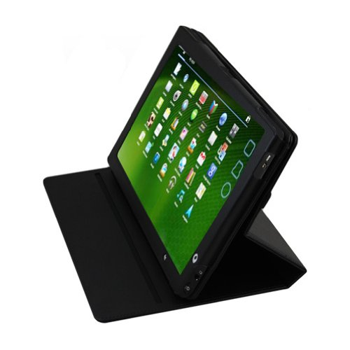 Mobile-Protector Case rotating vertical black for Acer A501