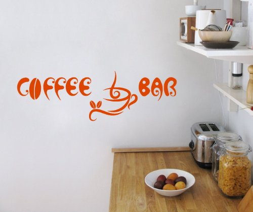 wall decals quotes coffee bar cup beans quote kitchen living any