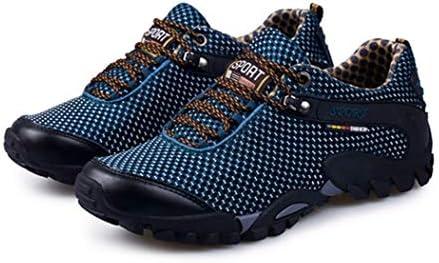 ハイキングシューズ メンズ 滑り止め 通気性 ウォーキングシューズ 衝撃吸収 耐摩耗性 アウトドアシューズ トレッキングシューズ 登山靴 大きいサイズ スニーカー ローカット 軽量 運動靴 スポーツシューズ キャンプ