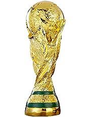 Voetbaltrofee, Wereldbeker Voetbalkopie Kampioen Trofee Hars Ambachten, Voetbal Sportfans Collectie Souvenirs En Woondecoratie,36cm