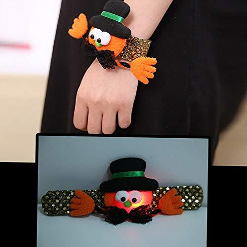 - Hemau Led Band Glowing Wristband Light Up Bracelet Halloween Kids Party Gift | Model BRCLT - 1489 |