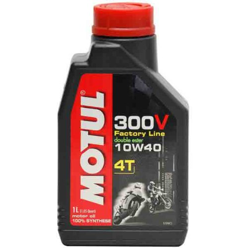 4t Competition Synthetic Oil (Motul 300V 4T Competition Synthetic Oil - 10W40 - 1L. 836111 / 101348)