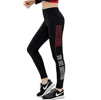 LIYUEJING Pantalones De Chándal para Mujer Pantalones De Yoga ...
