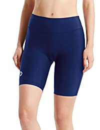"Baleaf Women's 7"" Active Fitness Pocket Running Shorts"