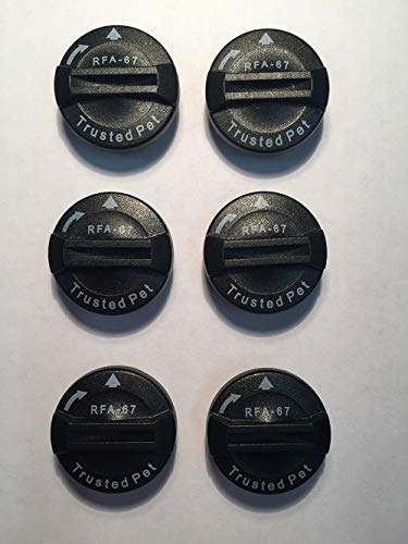 (REPLACEMENT BATTERIES FOR PETSAFE RFA-67 (6 PACK))