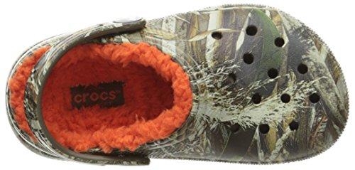 Crocs - Klassisches Realtree Max-5 Gefüttert Clog (Kleinkind / Kleinkind), EUR: 27-28, Chocolate/Orange