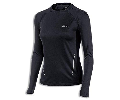 Shirt Asics Core Run (ASICS Women's Performance Run Long Sleeve Top, Performance Black, Medium)