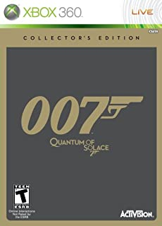 James Bond 007: Quantum of Solace Collector's Edition -Xbox 360 by Bond 007: Quantum of Solace (B001E22W0E) | Amazon price tracker / tracking, Amazon price history charts, Amazon price watches, Amazon price drop alerts
