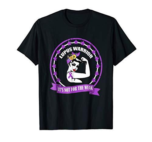gift lupus warrior awareness purple support wear great ()