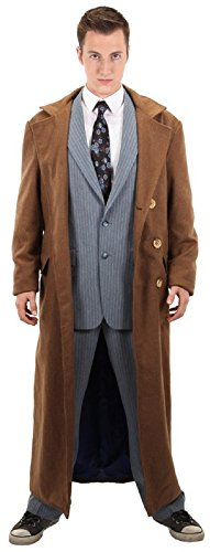 Doctor Who 10th Doctor Coat - L/XL