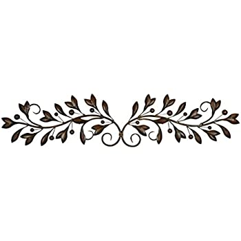 This item Deco 79 Metal Wall Decor, 48-Inch by 9-Inch