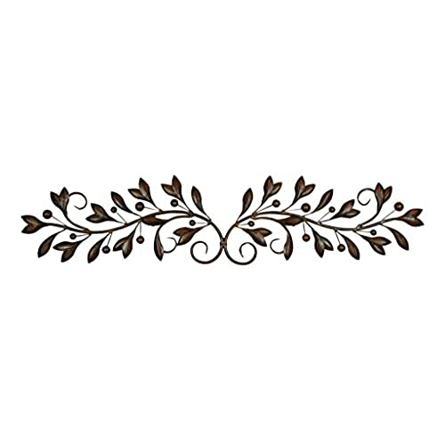 Deco 79 Metal Wall Decor, 48 Inch By 9 Inch