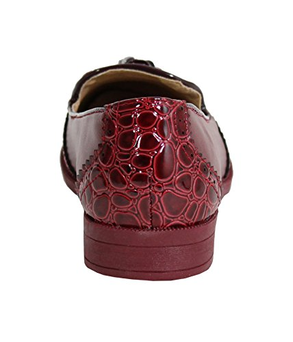 Merceditas Red para Shoes By Wini Mujer 0qx5XXEw