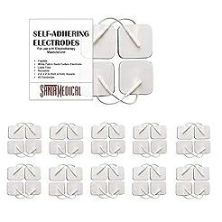TENS Unit Pads Electrodes 2x2 40 Pcs Rep...