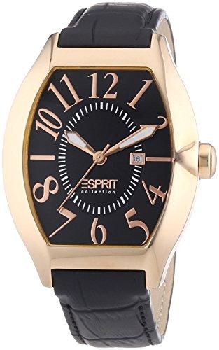Esprit Collection EL101081F03 - Men's Wristwatch, Leather, color: Black