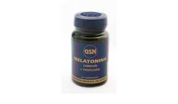 G.S.N. - MELATONINA COMPLEX 60COMP G: Amazon.es: Salud y cuidado personal