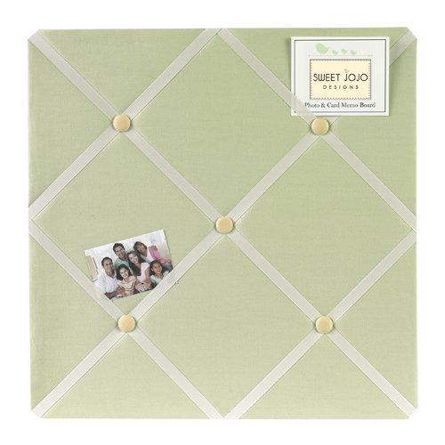 Green Dragonfly Dreams Fabric Memory/Memo Photo Bulletin Board