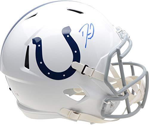 Darius Leonard Indianapolis Colts Autographed Riddell Speed Replica Helmet - Fanatics Authentic - Authentic Helmet Autographed Colts