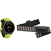 Garmin Forerunner 230 GLONASS and GPS Running Watch, Force Yellow Bundle