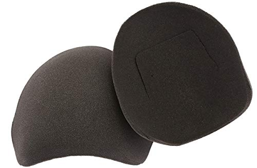The Natural Charcoal Shoulder Pads w/Flaps -