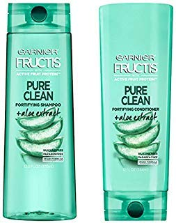- Garnier Fructis Daily Use Pure Clean Shampoo And Conditioner With Aloe Extract 12.5 oz.