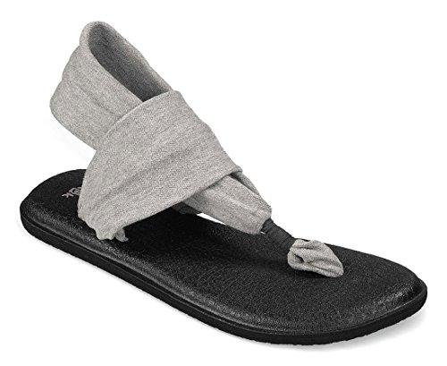 tongs Sling pour Yoga noir Sanuk femmes sandales C7qvX8w