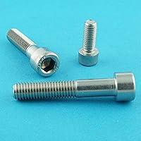 DIN 912 Edelstahl A2 V2A- rostfrei - Zylinderkopf Schrauben ISO 4762 30 St/ück Eisenwaren2000 Gewindeschrauben Zylinderschrauben mit Innensechskant M10 x 70 mm