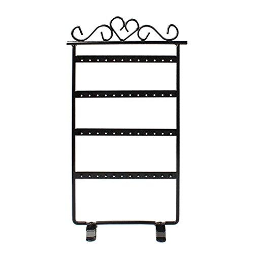 usstore-1pc-48-hole-earrings-jewelry-display-rack-metal-stand-holder-showcase-black