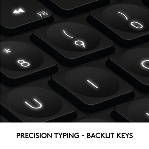 Logitech Craft Advanced Wireless Keyboard with Creative Input Dial and Backlit Keys, Dark grey and aluminum by Logitech (Image #5)