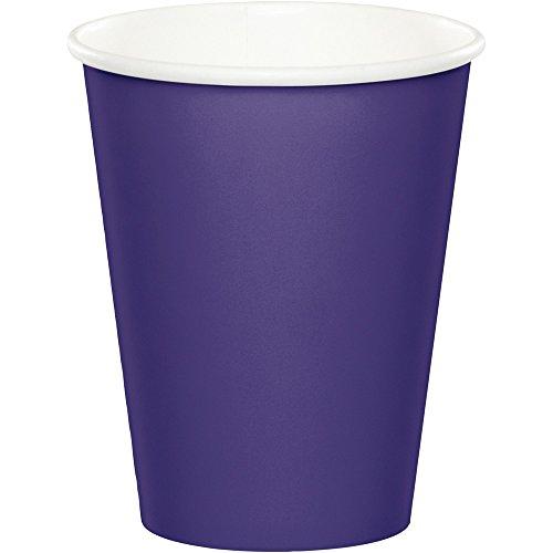 Celebrations 96-Count 9 oz. Hot/Cold Cups, Purple