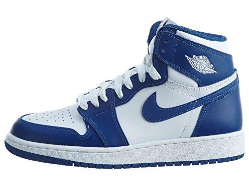 Nike 575441-127, Zapatillas de Baloncesto para Niños Blanco (White / Stormblue)