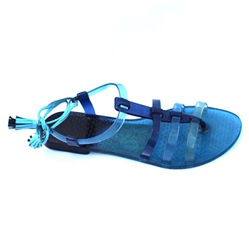 Para dedo del pie-Post Juicy Couture carcasa blanda de y pedrería para mujer, estándar del Reino Unido 3 -  3 5. DE £78 azul - azul marino