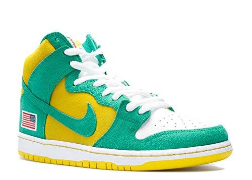 NIKE x Anonymous x Unheardof Men SB Dunk High - Oakland Athletics Size 10 (Oakland Athletics Shoes)