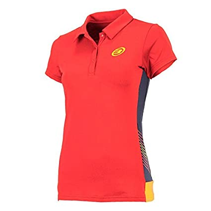 Bull padel - Bazagueda Polo, Color Red, Talla UK-14: Amazon.es ...