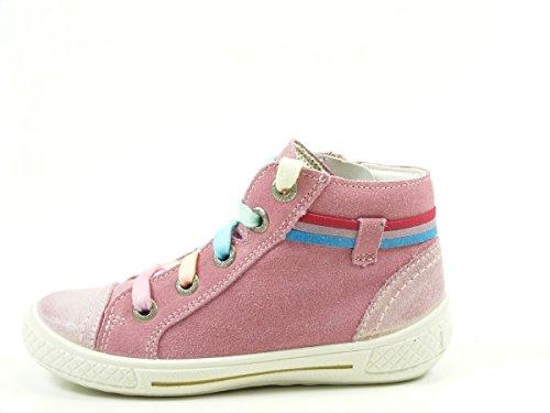 Superfit 0-00092 Tensy Schuhe Kinder Sneaker Halbschuhe Mädchen Weite Mittel Rosa