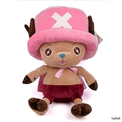 "OnePiece Chopper Rosa Big 34 "" – Peluche de anime de peluche Peluches kawaii regalo"