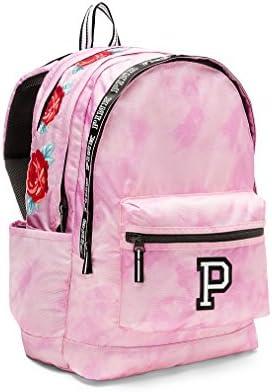 Victorias Secret PINK Campus Backpack Cupid Pink Tie Dye With Roses Victoria/'s Secret SG/_B077WT9K7K/_US